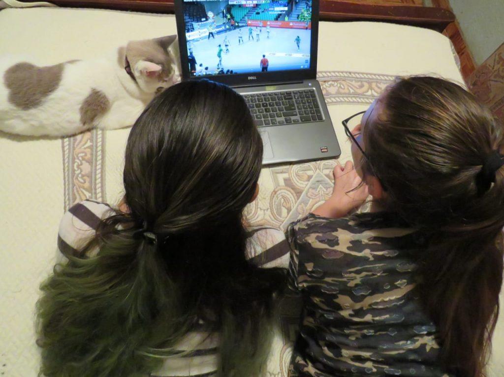 Análisis de vídeo, Andrea y Stephanie Alemán